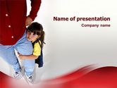 People: Paternal Care PowerPoint Template #02232