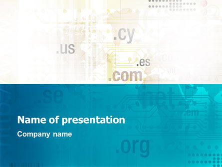 Web Hosting Company PowerPoint Template
