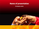 Sports: Combat PowerPoint Template #02234
