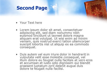 Bible PowerPoint Template, Slide 2, 02236, Religious/Spiritual — PoweredTemplate.com