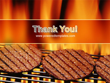 Burgers On Grill PowerPoint Template Slide 20