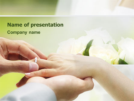 Wedding Vows PowerPoint Template