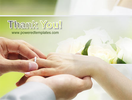 Wedding Vows PowerPoint Template Slide 20