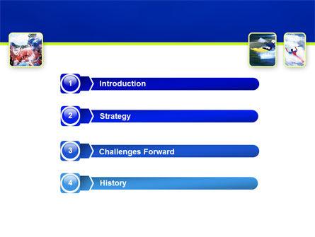 Kayaking PowerPoint Template, Slide 3, 02239, Sports — PoweredTemplate.com