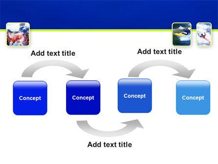 Kayaking PowerPoint Template, Slide 4, 02239, Sports — PoweredTemplate.com