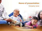 Education & Training: Kids and Learning PowerPoint Template #02240