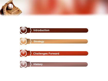 School Baseball PowerPoint Template, Slide 3, 02242, Sports — PoweredTemplate.com