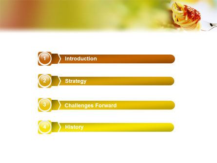 Italian Food PowerPoint Template Slide 3