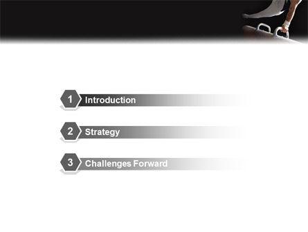 Male Gymnastics PowerPoint Template, Slide 3, 02245, Sports — PoweredTemplate.com