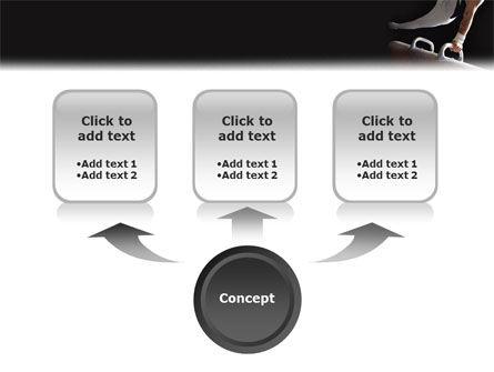 Male Gymnastics PowerPoint Template, Slide 4, 02245, Sports — PoweredTemplate.com