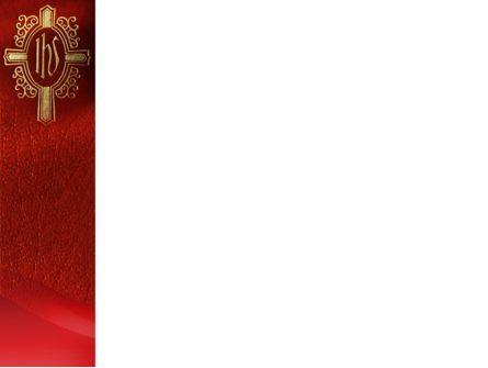 Holy Cross PowerPoint Template, Slide 3, 02246, Religious/Spiritual — PoweredTemplate.com
