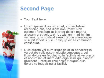 Raspberry Ice Cream PowerPoint Template Slide 2