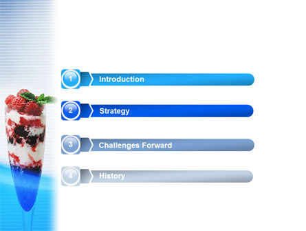 Raspberry Ice Cream PowerPoint Template, Slide 3, 02247, Food & Beverage — PoweredTemplate.com