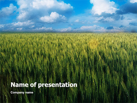 Grain PowerPoint Template