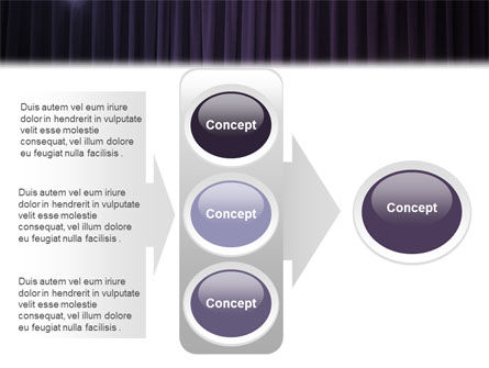 Show Business PowerPoint Template Slide 11