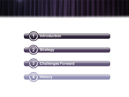 Show Business PowerPoint Template Slide 3