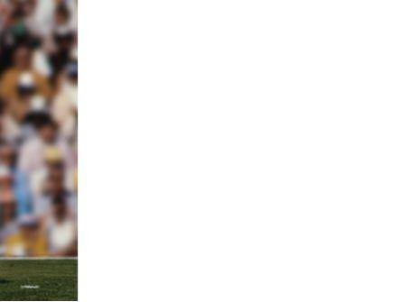 American Football Game PowerPoint Template, Slide 3, 02252, Sports — PoweredTemplate.com