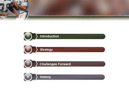 American Football Game PowerPoint Template Slide 3