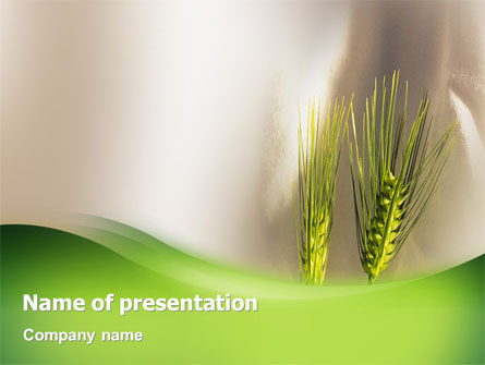 Work On The Farm PowerPoint Template