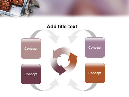 Pie In Baking Tray PowerPoint Template Slide 6