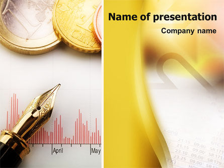 Financial Review PowerPoint Template