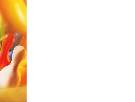 Bowling PowerPoint Template, Slide 3, 02262, Sports — PoweredTemplate.com