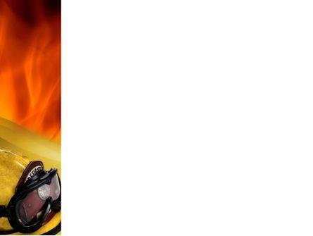 Fire Extinguishing PowerPoint Template, Slide 3, 02265, Careers/Industry — PoweredTemplate.com