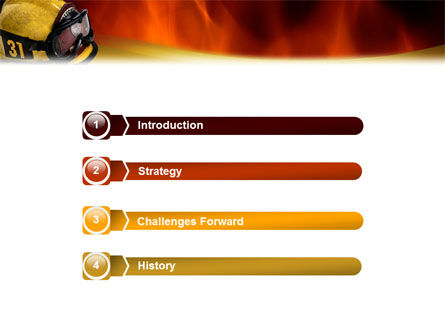 Fire Extinguishing PowerPoint Template Slide 3