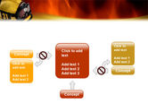Fire Extinguishing PowerPoint Template#13