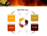 Fire Extinguishing PowerPoint Template#6
