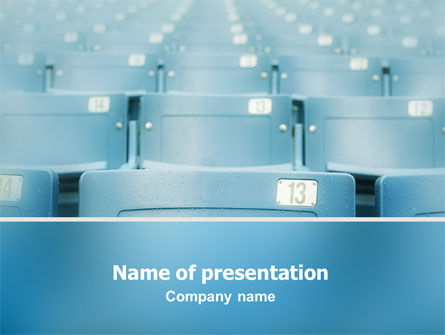 Business Concepts: Seat PowerPoint Template #02266