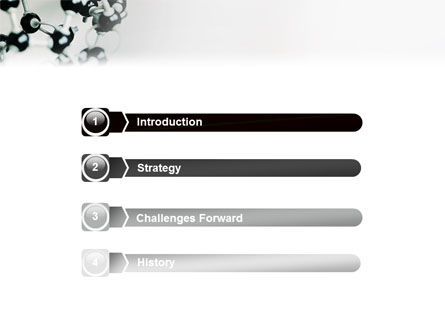 Creation Of Fullerene Molecule Model PowerPoint Template, Slide 3, 02267, Technology and Science — PoweredTemplate.com