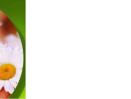 Daisy PowerPoint Template, Slide 3, 02268, Nature & Environment — PoweredTemplate.com