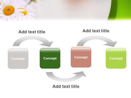 Daisy PowerPoint Template, Slide 4, 02268, Nature & Environment — PoweredTemplate.com