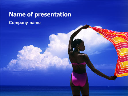 Exotic Beauty PowerPoint Template