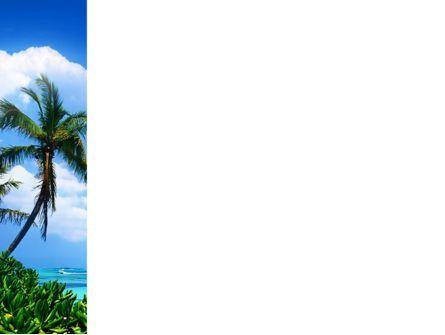 Exotic Island PowerPoint Template, Slide 3, 02272, Nature & Environment — PoweredTemplate.com
