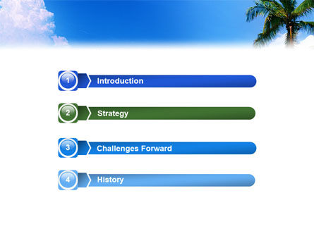 Exotic Island PowerPoint Template Slide 3