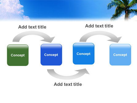 Exotic Island PowerPoint Template, Slide 4, 02272, Nature & Environment — PoweredTemplate.com