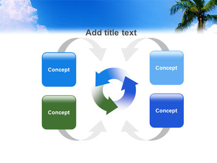 Exotic Island PowerPoint Template Slide 6