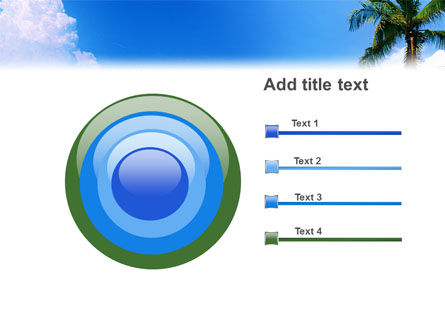 Exotic Island PowerPoint Template Slide 9