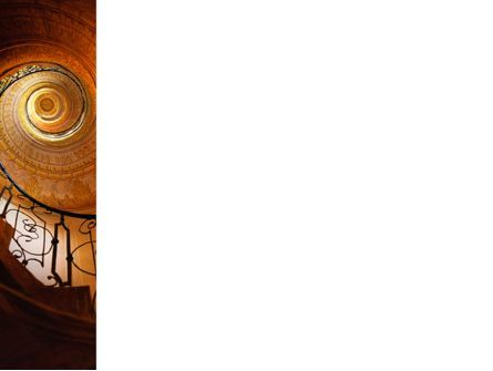 Stairs PowerPoint Template, Slide 3, 02275, Construction — PoweredTemplate.com
