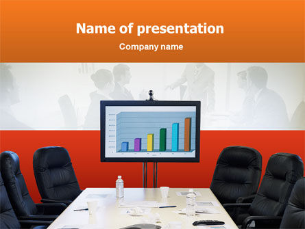 Business: Evaluation Meeting PowerPoint Template #02277