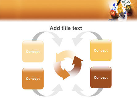 Addition PowerPoint Template Slide 6