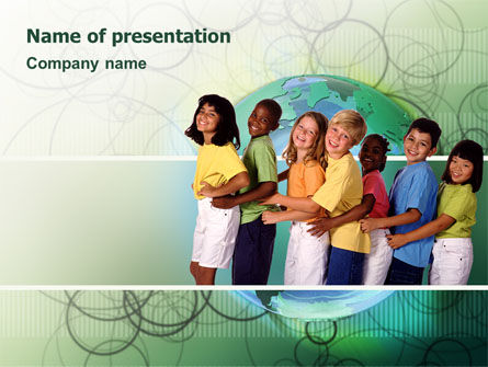 People: Children Of The World PowerPoint Template #02279
