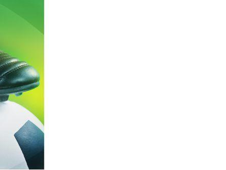 Football And Football Boots PowerPoint Template, Slide 3, 02282, Sports — PoweredTemplate.com