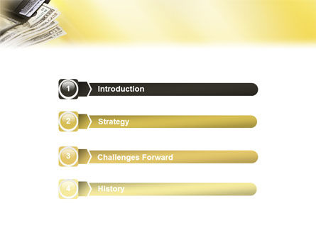 Dollars PowerPoint Template, Slide 3, 02283, Financial/Accounting — PoweredTemplate.com