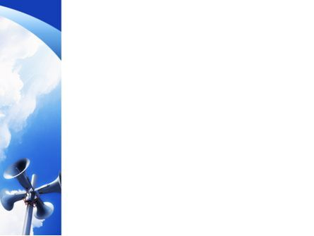 Loudspeaker PowerPoint Template, Slide 3, 02285, Business Concepts — PoweredTemplate.com