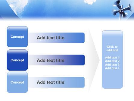 Loudspeaker PowerPoint Template Slide 12