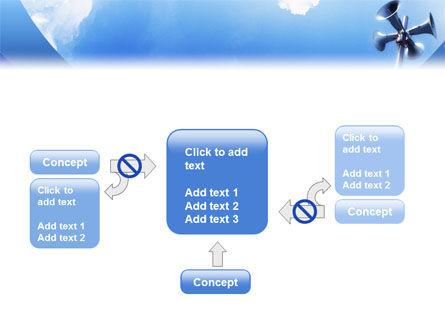 Loudspeaker PowerPoint Template Slide 13