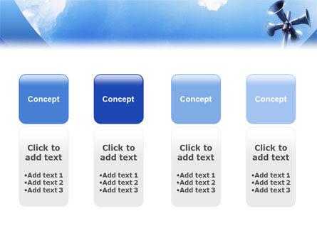 Loudspeaker PowerPoint Template Slide 5